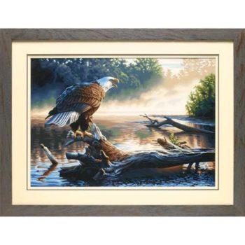 """91379 • Набор для рисования красками по номерам """"Орел•охотник"""" • """"Eagle Hunter"""" Dimensions Paint Works"""
