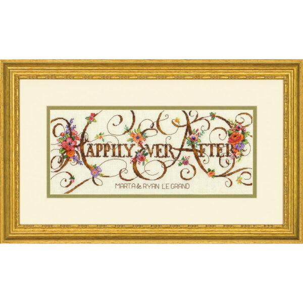 70-35361 Набор для вышивания крестом Долго и счастливо Happily Ever After DIMENSIONS