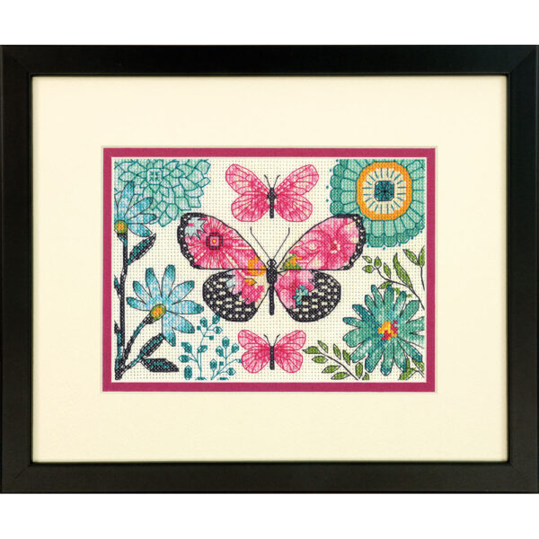 70-65178 Набор для вышивания крестом «Мечта бабочки» • «Butterfly Dream» DIMENSIONS