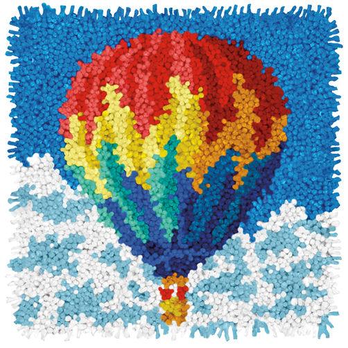 "72-75195 Набор для ковровой техники ""Воздушный шар//Hot Air Balloon"" DIMENSIONS"