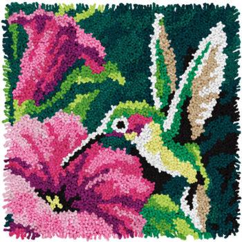 "72-74869 Набор для ковровой техники ""Колибри//Hummingbird"" DIMENSIONS"