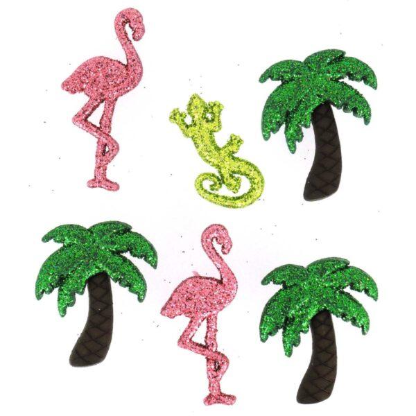 4421 Фигурки. Блестящее Фламинго | Dress it up США