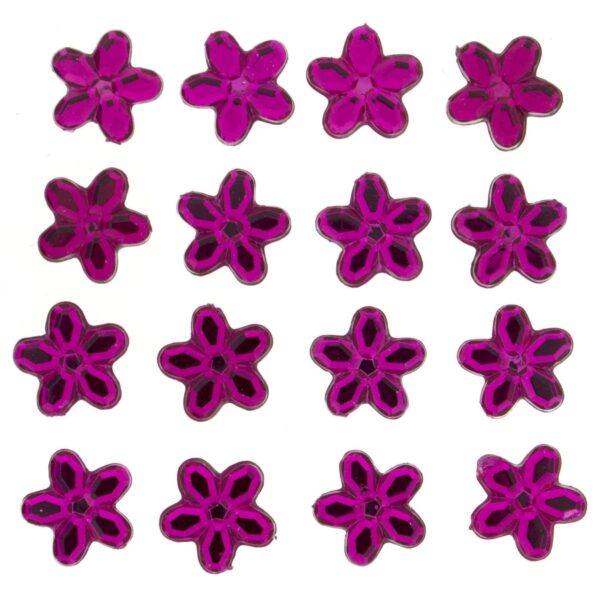 3811 Украшение. Ярко-розовые цветы | Dress it up США