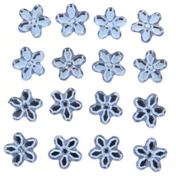 3812 Украшение. Голубые цветы | Dress it up США