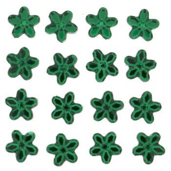 3815 Украшение. Зеленые цветы | Dress it up США