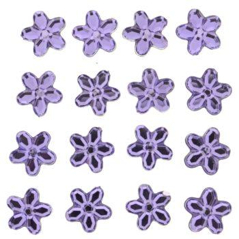 3816 Украшение. Сиреневые цветы | Dress it up США