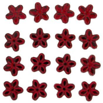 3818 Украшение. Красные цветы | Dress it up США