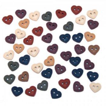 1786 Декоративные пуговицы. Мини сердца | Dress it up США