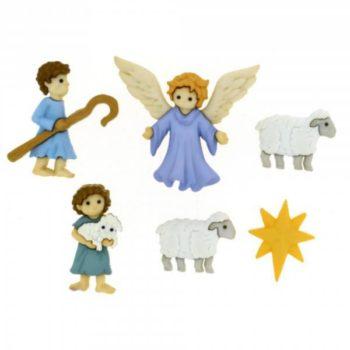 8816 Декоративные пуговицы. Хороший пастух | Dress it up США