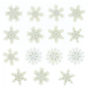 0964 Декоративные пуговицы. Снег | Dress it up США