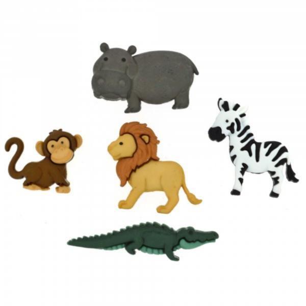 9003 Декоративные пуговицы. Животные Ноя | Dress it up США