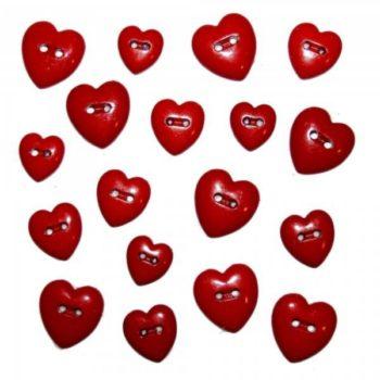242 Декоративные пуговицы. Сердца | Dress it up США