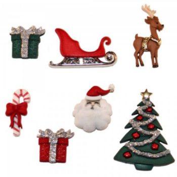 2464 Фигурки. Канун Рождества | Dress it up США