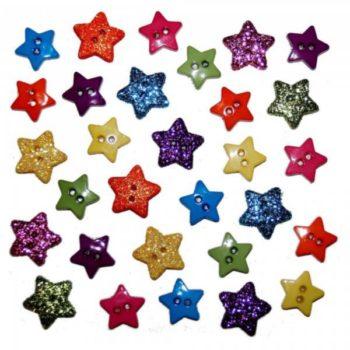 1633 Декоративные пуговицы. Крошечная звезда   Dress it up США