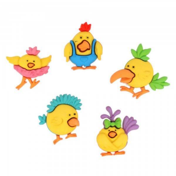 6540 Фигурки. Цыплята | Dress it up США