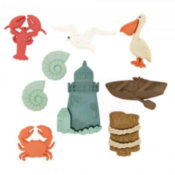 1549 Фигурки. Океан | Dress it up США