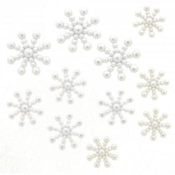 1629 Фигурки. Жемчужные снежинки | Dress it up США