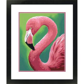 """73-91677 Набор для рисования красками по номерам """"Фламинго • Flamingo Fun"""" DIMENSIONS"""