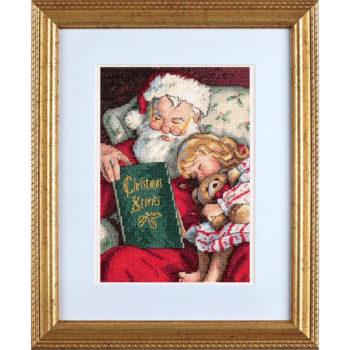 """08786 Набор для вышивания крестом """"Christmas Stories • Рождественские истории"""" DIMENSIONS"""