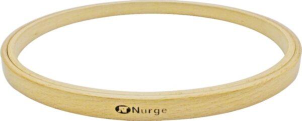 130-1 Пяльцы Nurge деревянные без винта, высота обода 8мм, диаметр 100мм