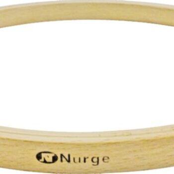 130-2 Пяльцы Nurge деревянные без винта, высота обода 8мм, диаметр 130мм