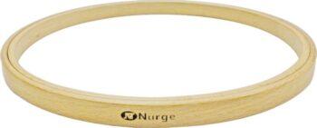 130-6 Пяльцы Nurge деревянные без винта, высота обода 8мм, диаметр 250мм