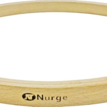 140-3 Пяльцы Nurge деревянные без винта, высота обода 16мм, диаметр 160мм