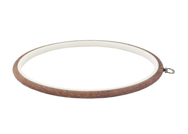 230-5 Пяльцы-рамка Nurge круглые каучуковые с подвесом, высота обода 8мм, диаметр 245мм