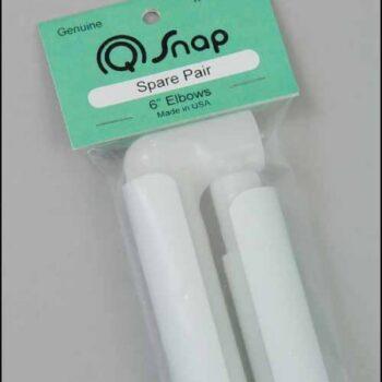 """Запасные пары с зажимами Q-Snap 6"""" (15см) США"""