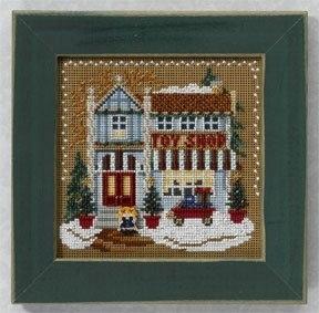 """Набор для вышивания """"Toy Shop • Магазин игрушек"""" Mill Hill MH146301"""