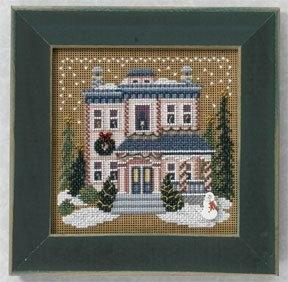 """Набор для вышивания """"Victorian House • Викторианский дом"""" Mill Hill MH146305"""
