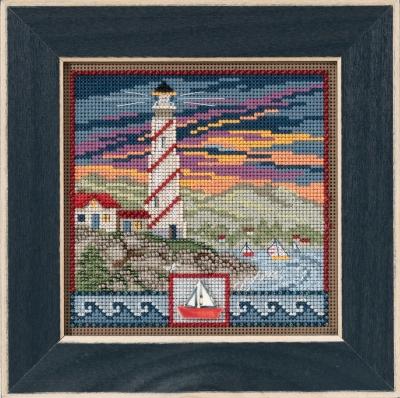 """Набор для вышивания """"Lighthouse • Маяк"""" Mill Hill MH141714"""