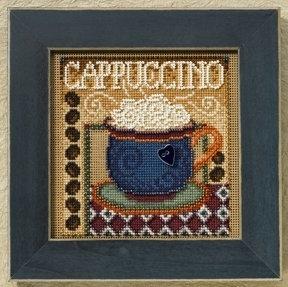 """Набор для вышивания """"Cappuccino • Капучино"""" Mill Hill MH148202"""