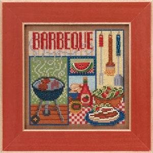 """Набор для вышивания """"Barbeque • Барбекю"""" Mill Hill MH143106"""