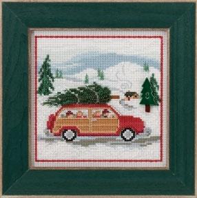 """Набор для вышивания """"Family Tree • Семейное дерево"""" Mill Hill MH143305"""