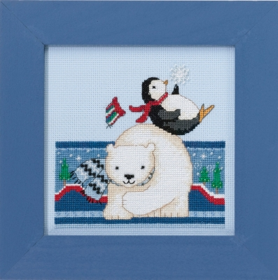"Набор для вышивания ""Polar Play • Полярные игры"" Mill Hill DM301711"