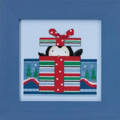 """Набор для вышивания """"Polar Peek • Полярные заглядывания"""" Mill Hill DM301712"""