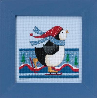 "Набор для вышивания ""Polar Skate • Полярные коньки"" Mill Hill DM301714"