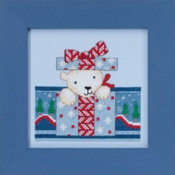 """Набор для вышивания """"Polar Surprise • Полярный сюрприз"""" Mill Hill DM301715"""