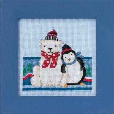 "Набор для вышивания ""Polar Peace • Полярный мир"" Mill Hill DM301716"