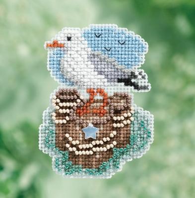 """Набор для вышивания """"Seagull • Чайка"""" Mill Hill MH181716"""