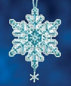 """Набор для вышивания """"Aqua Crystal • Ледяной кристал"""" Mill Hill MH162301"""