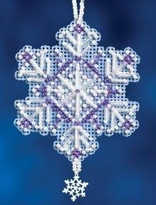 """Набор для вышивания """"Amethyst Crystal • Аметистовый кристал"""" Mill Hill MH162303"""