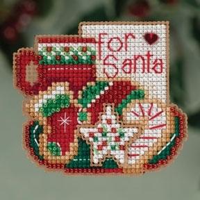 """Набор для вышивания """"For Santa • Для Санты"""" Mill Hill MH183302"""