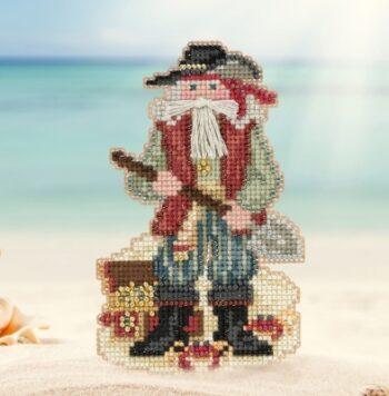 "Набор для вышивания ""Barbados Santa • Барбадосский Санта"" Mill Hill MH201733"
