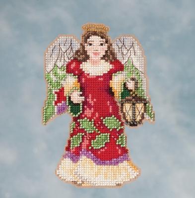"""Набор для вышивания """"Angel with Lantern • Ангел с фонарем"""" Mill Hill JS201612"""