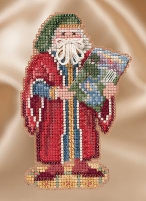 "Набор для вышивания ""Renaissance Florence Santa • Флоренцийский Санта"" Mill Hill MH201632"