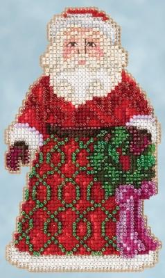 "Набор для вышивания ""Greetings Santa • Приветствие Санты"" Mill Hill JS205105"