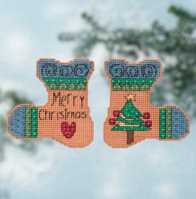 """Набор для вышивания """"Merry Christmas • Веселого Рождества"""" Mill Hill ST141613"""