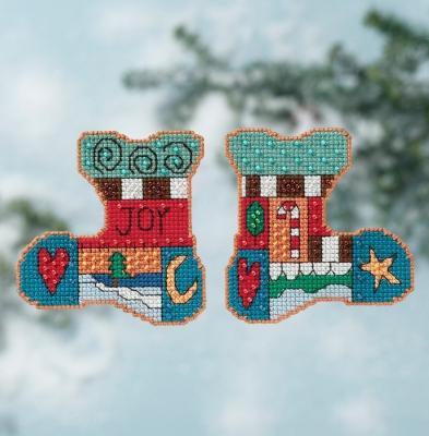 """Набор для вышивания """"Joy • Радость"""" Mill Hill ST141616"""